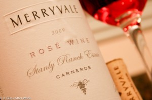 2009 Merryvale Stanly Ranch Estate Rose