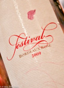 2009 Festival Rose Bordeaux blend