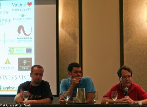 Drinking Local panel at WBC11