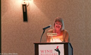 Jancis Robinson at the Wine Bloggers' Conference 2011 (WBC11)