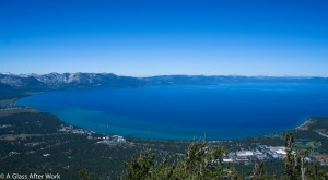 Overlook of Lake Tahoe from Heavenly