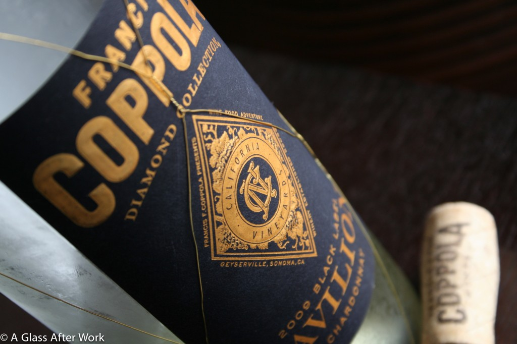 This is a graphic of Challenger Coppola Claret 2009 Black Label