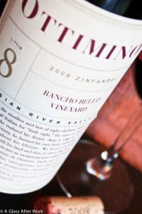 2008 Ottimino Rancho Bello Vineyard