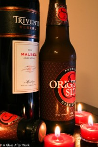 2010 Trivento Reserve Malbec and Original Sin Hard Cider