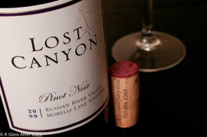 2009 Lost Canyon Morelli Lane Vineyard Pinot Noir
