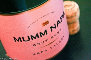 Mumm Napa Brut Rosé - At $24, this rose sparkling wine is light bodied, full of flavor, and easy to drink. It also comes in large formats, so it's a perfect option for a summer cookout, New Year's Eve party, or big family brunch. Rating: 4.5 Corks out 5 | AGlassAfterWork.com