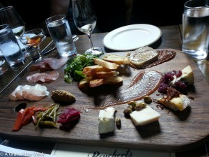 Charcuterie and Albariño at Beuchert's