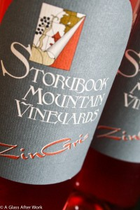 2012 Storybook Mountain Vineyards Zin Gris -- This $19 rosé wine from California is great with food or perfect for sipping solo on a hot summer day.  It's fresh and flavorful, without overpowering your meal. Rating = 4.5 out of 5 | AGlassAfterWork.com