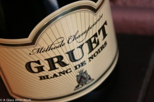 Gruet Blanc de Noirs – This $13 bottle of sparkling wine from New Mexico is dry with beautiful, persistent bubbles. The bubbly tastes of berries, baked pears with hints of toast, cream, and vanilla. It's delicious on its own or mixed with your favorite fruit juice for a champagne cocktail. Rating 4 out 5. Cheers! | AGlassAfterWork.com