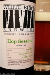 White Birch Brewing Hop Session India Pale Ale