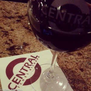 Wine at Central Instagram