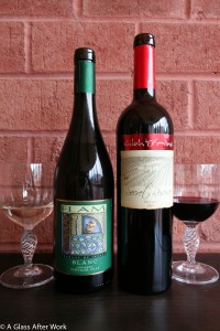 2013 Flam Blanc and 2010 Shiloh Secret Reserve Merlot