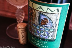 Flam Blanc – At $28, this white wine blend from Israel is full of flavor. Whether you're looking for a wine to pair with a turkey dinner or to enjoy over a steaming bowl of mazto ball soup, this wine is a fantastic option. Rating: 4 out of 5 | AGlassAfterWork.com