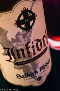 2011 Selkirk Abbey Brewing Company Infidel