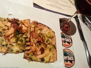 Tröegs Hopback Amber Ale & Smokehouse Flatbread