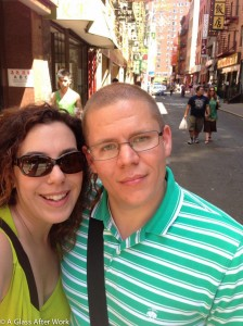 Selfie Walking Around NYC Chinatown