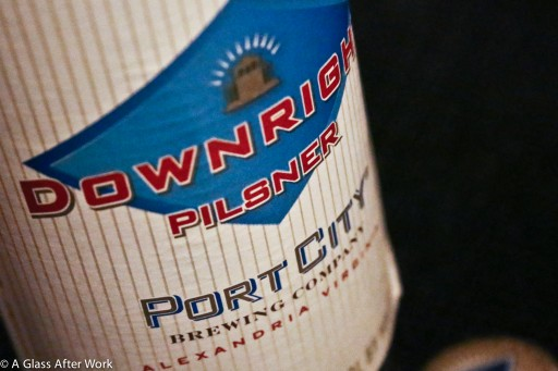 Port City Brewing Company Downright Pilsner