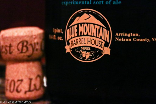 Cork and closeup of Blue Mountain Barrel House Local Species