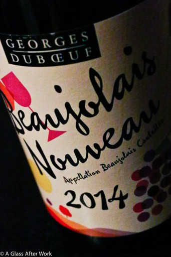 My second Bottle of 2014 Georges DuBoeuf Beaujolais Nouveau
