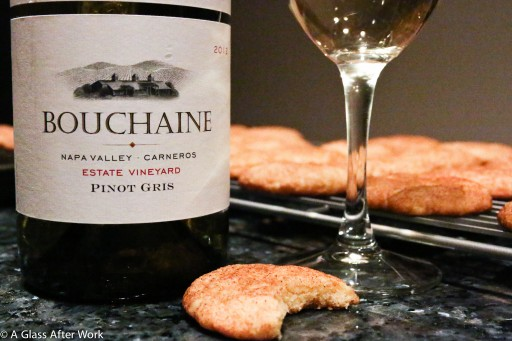 2012 Bouchaine Vineyards Pinot Gris and Snickerdoodles