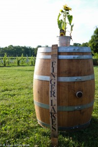 Finger Lakes Wine Barrel