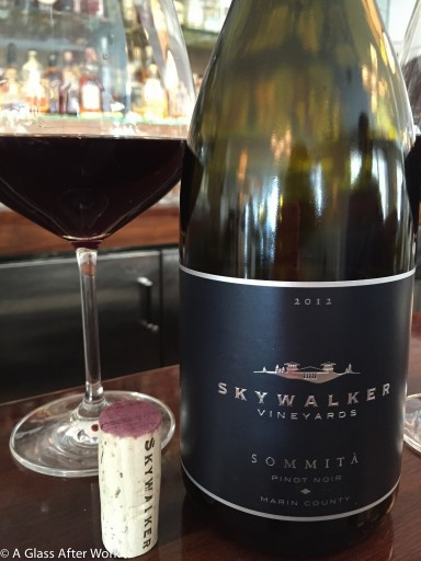 2012 Skywalker Vineyards Sommità Pinot Noir