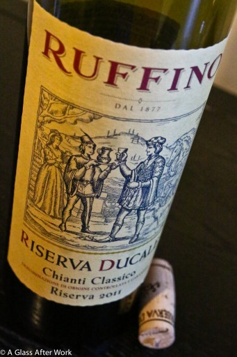 2011 Ruffino Riserva Ducale Chianti Classico -  This $25 Italian wine is a little pricey, but it's worth every penny.  This is a red  wine you'll just want to sink into and savor, particularly if you have a smokey cheeseburger or a juicy steak to go with it.  Ratings = 4.5 out of 5 | AGlassAfterWork.com