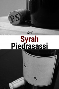 2013 Piedrasassi Syrah -- This is a wine for the olive lover! At $35, it's a bit pricey, but perfect for a romantic night in front of a crackling fire or paired with good conversation and a delicious cheese and charcuterie board. Rating = 4 out of 5 corks | AGlassAfterWork.com