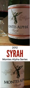 2012 Montes Alpha Syrah – At $20, this big, bold, and beautiful red wine from Chile is a great choice for unwinding on a Friday night. Enjoy it on its own or drink it with a dinner of lamb chops, BBQ ribs, or even a juicy burger. Either way, you won't be sorry you opened it. Ratings 4 out 5   AGlassAfterWork.com