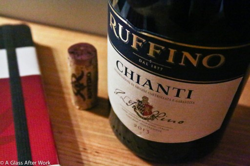 2013 Ruffino Chianti - This $10 Italian red wine is nice on the wallet and begs to be paired with a pepperoni pizza. | AGlassAfterWork.com