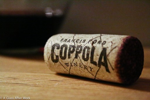 Francis Ford Coppola Winery cork 2013