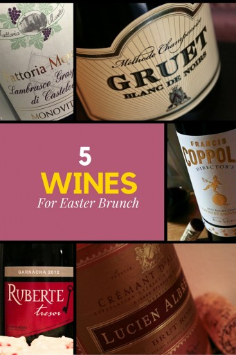 Top 5 Wines for Easter Dinner -- Easter brunch can be as difficult, if not more so, than Easter dinner when trying to pair wine, but here is some sparkling, white and red wine suggestions that should be a nice addition to your omelet, eggs benedict, or ham brunch selections. Cheers! | AGlassAfterWork.com