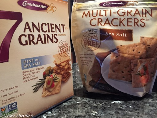 Crunchmasters 7 Ancient Grains and Multi Grain Crackers