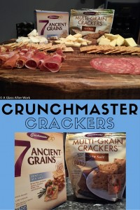 Crunchmaster 7-Grain and Sea Salt Multi-Grain Crackers – If you eat gluten-free or dairy-free, are willing to try something a little different, or are looking for a great palate cleanser when doing a wine tasting, the Crunchmaster crackers are worth trying. | AGlassAfterWork.com