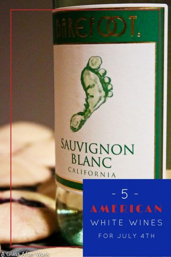 5 American White Wines for July 4 – July 4 cookouts are mean lots of good food, friends, and alcohol...and many people enjoy a nice glass of white wine. However, finding one that fits a BBQ atmosphere can be difficult. These wines are good options for all levels of wine drinkers. Cheers! | AGlassAfterWork.com