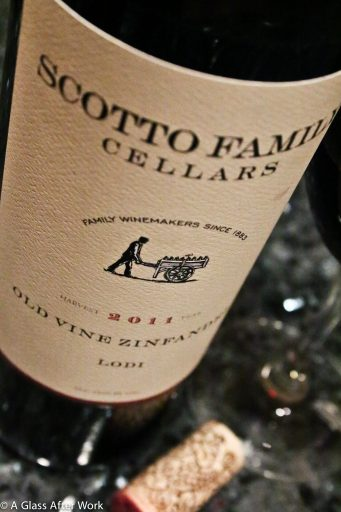 2011 Scotto Cellars Old Vine Zinfandel -- At $15, this full body red wine from Lodi, California has a great quality-price ratio. It's food-friendly and luscious, making it easy to drink any time of year. Ratings 3.5 out of 5 | AGlassAfterWork.com