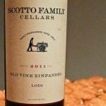 2011 Scotto Family Cellars Old Vine Zinfandel and Pumpkin Snickerdoodles