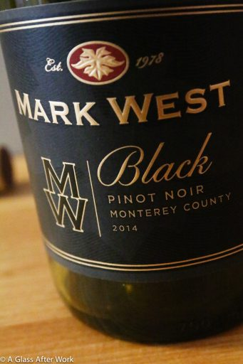 Mark West Black Pinot Noir – At $14, this surprisingly full-bodied red wine from California is not what a typical Pinot Noir. It's a bit darker and more brooding, without being as in-your-face as a Cabernet. Definitely a wine to think about when looking for an in-between. Rating 3.5 out of 5 | AGlassAfterWork.com