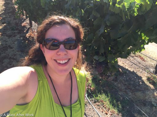 Selfie in Ghielmetti Estate Vineyard