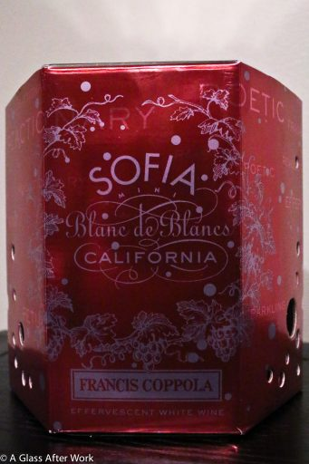 Sofia Blanc de Blancs 4-pack box