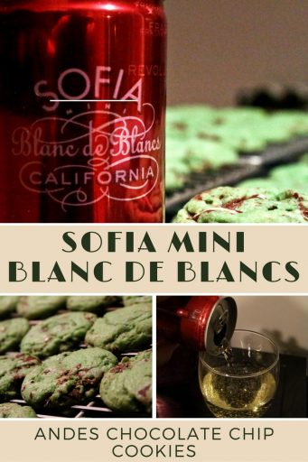 Sofia Mini Blanc de Blancs & Andes Mint Chocolate Chip Cookies – At an SRP of $20 for a 4-pack, it is worth grabbing this sparkling wine in a can from California. During these last days of summer the Sofia minis are the perfect beach or poolside sipper or a fun option for a cookout. The cookies are delicious, although not the best pairing with the wine. Cheers! Rating 3.5 out of 5 | AGlassAfterWork.com