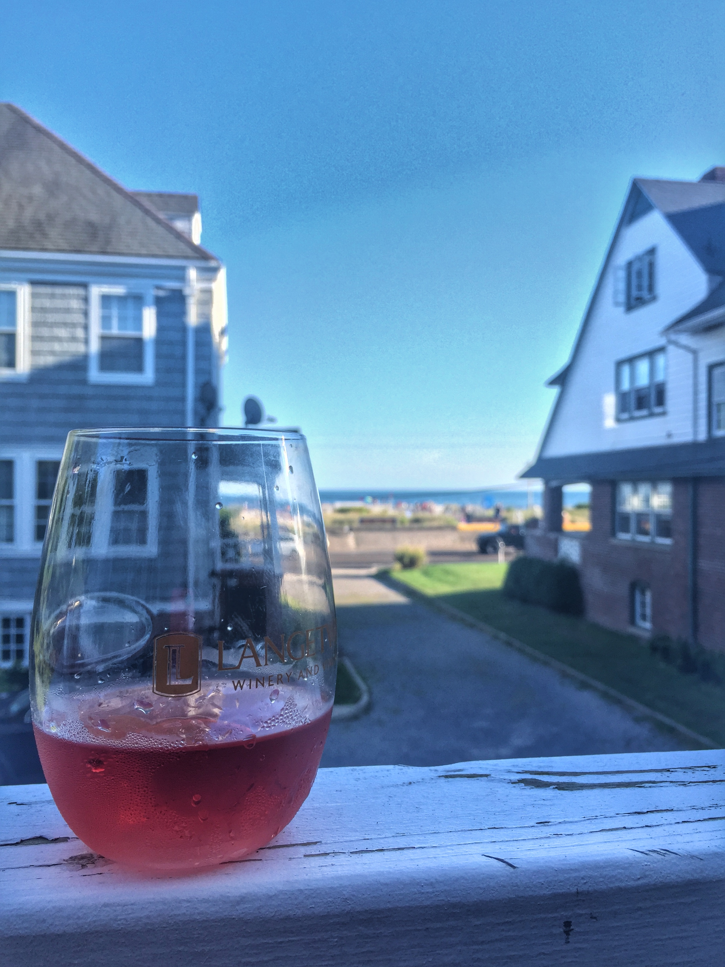 LangeTwins Winery & Vineyards Rosé in Cape May