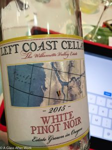 2015 Left Coast Cellars White Pinot Noir – At $24, this white wine from Oregon has a light body, nice acidity, and a lingering finish. It's truly a delicious wine. Rating: 4 out 5 | AGlassAfterWork.com