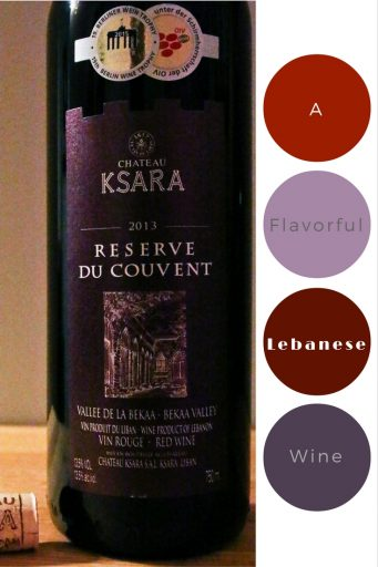 2013 Chateau Ksara Reserve du Couvent – At $15, this red wine from the Bekaa Valley in Lebanon packs a flavorful punch without breaking the bank. It's a slow-sipper that is perfect for an evening sitting in front of a fire and reading or enjoying with family over a hearty stew. Rating: 4 out 5 | AGlassAfterWork.com