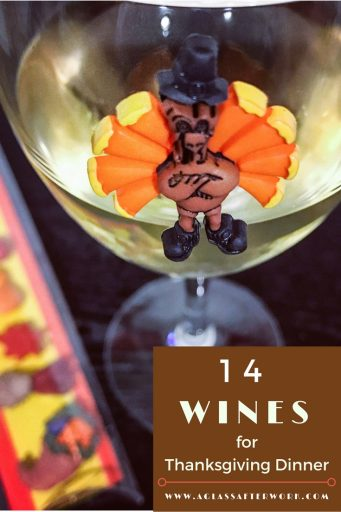14 Wines for Thanksgiving Dinner – Here are mix of sparkling, rosé, white, and red wine options that would be a wonderful addition to any Thanksgiving Day feast. Plus, 10 of these Thanksgiving wine pairing options are $20 or less, so there is no need to worry about spending a fortune for good wine. Cheers…and Happy Thanksgiving! | AGlassAfterWork.com