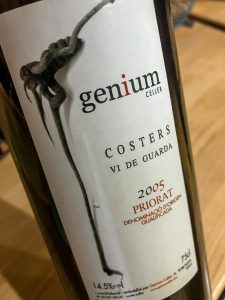 In honor of Open That Bottle Night, I opened a bottle I've been holding onto for 10 years-- a 2005 Genium Cellers Costers. This is a red wine from Priorat, Spain. Rating 5 out of 5 stars. | AGlassAfterWork.com