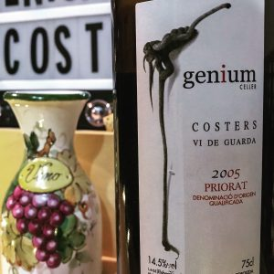 In honor of Open That Bottle Night, I opened a bottle I've been holding onto for 10 years-- a 2005 Genium Cellers Costers. This is a red wine from Priorat, Spain. Rating 5 out of 5 stars. | AGlassAfterWork.co
