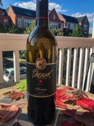 2015 Breaux Vineyards Meritage – At $42, this red wine blend from Virginia is too expensive for an every day waine, but is a fantastic option for a fall special occasion or Thanksgiving dinner.  Everything about it screams chilly weather, light sweaters, fall leaves, some football, and chili. Cheers! | AGlassAfterWork.com